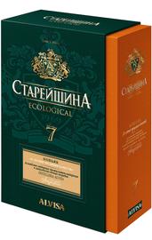 Коньяк российский «Старейшина КВ 7-летний» в подарочной упаковке