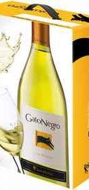 Вино белое сухое «Gato Negro Chardonnay» 2017 г., тетрапак