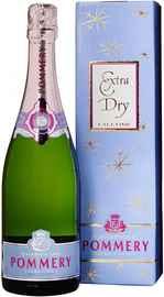 Шампанское белое экстра сухое «Pommery Falltime Extra Dry» в подарочной упаковке