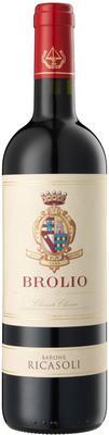 Вино красное сухое «Brolio Chianti Classico, 0.75 л» 2016 г.