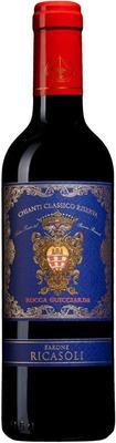 Вино красное сухое «Rocca Guicciarda Chianti Classico Riserva, 0.75 л» 2015 г.