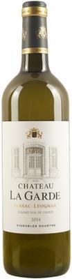 Вино белое сухое «Chateau La Garde Grand Vin de Graves» 2014 г.