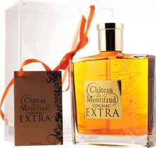 Коньяк французский «Petite Champagne Chateau de Montifaud Extra» в подарочной упаковке