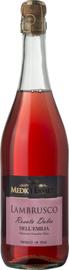 Вино игристое розовое полусладкое «Lambrusco Dell'Emilia Rosato Dolce»