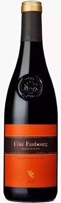 Вино красное сухое «Cote Faubourg»