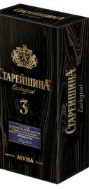 Коньяк российский «Старейшина Трехлетний» в подарочной упаковке