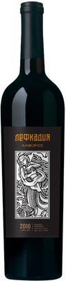 Вино красное сухое «Лефкадия Амфорное» 2016 г.
