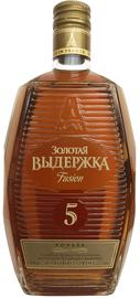 Коньяк российский «Золотая выдержка Fusion» фляга
