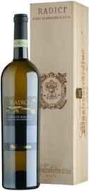 Вино белое полусухое «Radici Fiano di Avellino» 2014 г., в деревянной подарочной упаковке