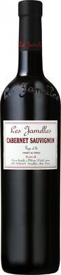 Вино красное сухое «Les Jamelles Cabernet Sauvignon» 2016 г.