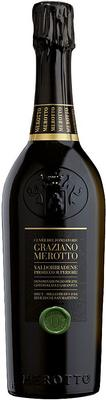 Вино игристое белое сухое «Cuvee del Fondatore Valdobbiadene Prosecco Superiore, 1.5 л» 2017 г.