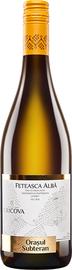 Вино столовое белое сухое «Feteasca Alba»