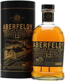 Виски шотландский «Aberfeldy 12 Years Old» в подарочной коробке