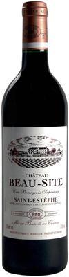 Вино красное сухое «Chateau Beau-Site, 0.375 л» 2015 г.