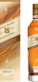 Виски шотландский «Johnnie Walker 18 Years Old» в подарочной упаковке