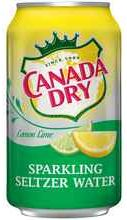 Газированный напиток «Canada Dry Lemon Lime»