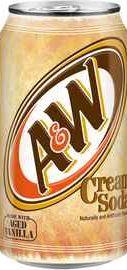 Газированный напиток «A&W Cream Soda»