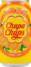 Безалкогольный газированный напиток «Chupa Chups Апельсин»