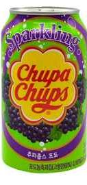 Газированный напиток «Chupa Chups виноград»