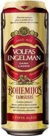 Пиво «Volfas Engelman Bohemijos tamsusis» в жестяной банке