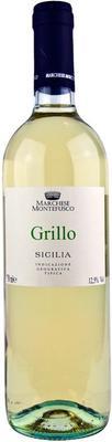 Вино белое сухое «Marchese Montefusco Grillo Sicilia» 2017 г.
