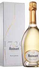 Шампанское белое брют «Ruinart Blanc de Blancs» выдержанное, в подарочной упаковке