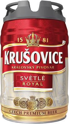 Пиво «Krusovice Svetle»