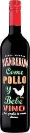 Вино красное сухое «Come Pollo y Bebe Vino»