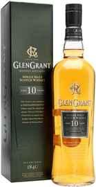 Виски шотландский «Glen Grant 10 YO» в подарочной упаковке