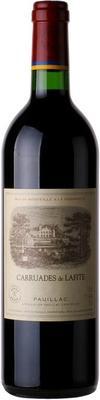 Вино красное сухое «Carruades de Lafite» 2015 г.