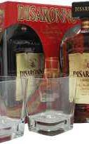 Ликер «Dissaronno Amaretto» + 2 бокала