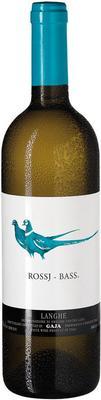 Вино белое сухое «Rossj-Bass Chardonnay , 0.75 л» 2017 г.