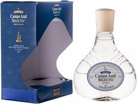 Текила «Campo Azul Selecto Blanco» в подарочной упаковке