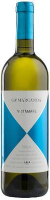 Вино белое сухое «Vistamare CaMarcanda IGP Tuscany, 1.5 л» 2017 г.