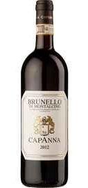 Вино красное сухое «Capanna Brunello di Montalcino» 2013 г.