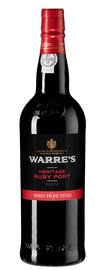 Портвейн «Warre's Heritage Ruby»