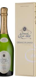 Вино игристое белое брют «Grande Cuvee 1531 de Aimery Cremant de Limoux» в подарочной упаковке