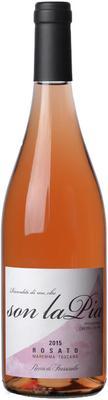 Вино розовое сухое «Son la Pia Rosato» 2015 г.