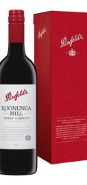 Вино красное сухое «Koonunga Hill Shiraz Cabernet» в подарочной упаковке