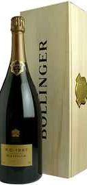 Шампанское белое экстра брют «Bollinger R D Extra Brut » 1997 г. в  деревянной коробке