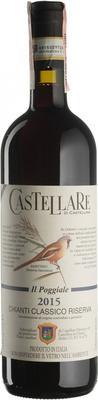 Вино красное сухое «Il Poggiale Chianti Classico Riserva» 2015 г.