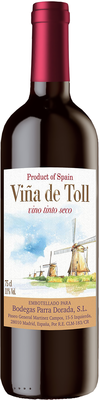 Вино столовое красное сухое «Vina de Toll Tinto Seco»