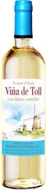 Вино столовое белое полусладкое «Vina de Toll Blanco Semidulce»