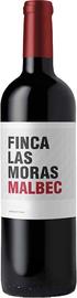 Вино красное сухое «Finca Las Moras Malbec» 2018 г.