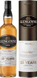 Виски шотландский «Glengoyne 18 Years Old» в тубе