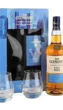 Виски шотландский «Glenlivet Founder's Reserve» в подарочной упаковке с двумя стаканами