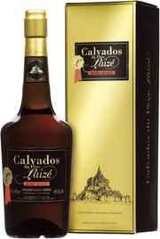 Кальвадос «Calvados du pere Laize Hors d'Age» в подарочной упаковке