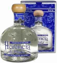 Текила «Herencia de Plata Silver» в подарочной упаковке