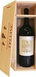 Вино красное полусухое «Felline Primitivo di Manduria» 2015 г., в деревянной подарочной упаковке