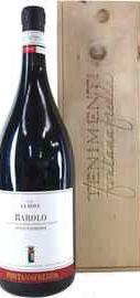 Вино красное сухое «Fontanafredda La Rosa Barolo» 2011 г., в подарочной деревянной упаковке